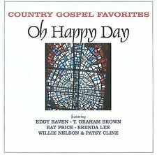 Country Gospel Favorites: Oh Happy Day New CD free shipping