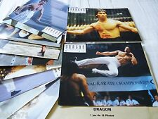 DRAGON l'histoire de bruce lee  !  jeu 12 photos cinema lobby cards karate
