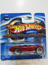 HOT WHEELS 2005 SHELBY COBRA 427 S/C #160 SHORTCARD