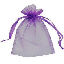 75 Organza Bags Jewellery Storage Pouches Party Mesh Drawstring Gift Making UK