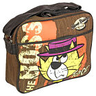 Top Cat Satchel Sports Shoulder Bag - The Boss Retro Vintage Cartoon TV Denim