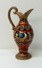 Arnart 5th Avenue NY Ceramic Ewer Pitcher with Dragon Head Ship Decor