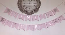 Winter Onederland First Birthday Banner Choose Colors