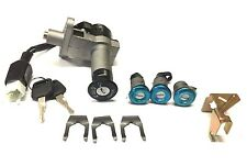 COMPLETE 4 WIRE KEY SWITCH ASSEMBLY LOCK SET MOPED MOTOR SCOOTER ZNEN 150T-F