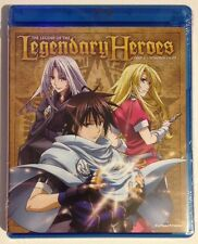 LEGEND OF THE  LEGENDARY HEROES: P2 - MINT NEW DVD/BLU-RAY SET!!