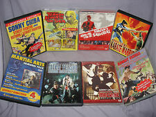 LOT - 8 Sonny Chiba Movies on DVD - 9-Disc Bundle/Set - OOP