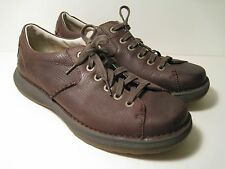 Dr. Martin Men's Brown Leather Oxford Shoes, Size 11