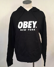 Obey Women's Hoodie Sweatshirt Worldwide New York Black LRG NEW Shepard Fairey