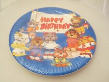 Get along Gang Happy Birthday paper party plates 9-inch, MIP  (8)