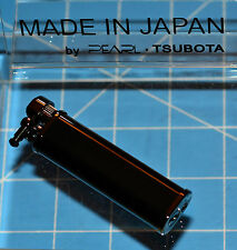 Tsubota Pearl Tall XL BOLBO Black Lacquer Flint Lighter Seki City Japan Old Boy☦
