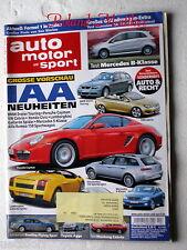 AMS 10-05+FORD MUSTANG CABRIO+MERCEDES ML+BENTLEY+AUDI A4 CABRIO+BMW 318 CABRIO