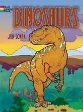 Dinosaurs Coloring Book by Jan Sovak (2014, Paperback)