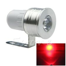 12V Red LED Day Spot Light Motorcycle Car Truck Van bike boat Off Road