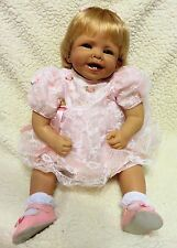 "2003 24"" Ashton-Drake So Truly Real Vinyl & Cloth ""FAITH"" Doll by Bonnie Chyle"