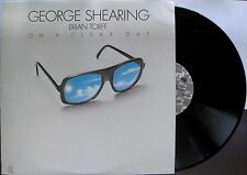 """GEORGE SHEARING  """"On A Clear Day""""  Jazz  LP -CJ-132 NM PRESSING 1980"""