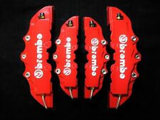 BREMBO CALIPER COVER TOYOTA CELICA SUPRA GT86 MRS MR2 PRIUS LEXUS RED SET