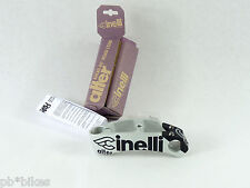 "Cinelli stem Alter threadless 140 1"" grey black Vintage Road track bike mtb NOS"