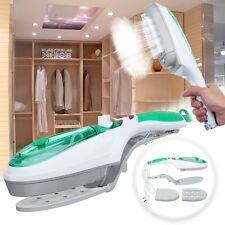 1000W Portable Handheld Electric Iron Steam Brush Fabric Laundry Clothes Home