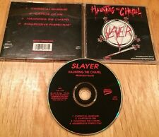 Slayer - Haunting The Chapel +1 CD 1993 US press CRC metallica megadeth exodus