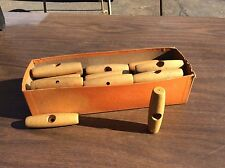 Wooden Pull Starter For Rope Pulling Lawn mowers Blowers Rupps Snowblower Etcc