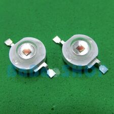 10pcs 3W IR 850nm Infrared LED Light Bulb Lamp Launch Emitter diode Bead 300mW