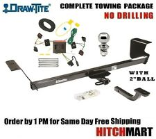 "FITS 2008-2010 TOWN & COUNTRY CLASS 2 TRAILER HITCH PACKAGE w/ 2"" BALL  36455"