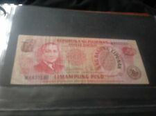 50 Philippines piso banknote