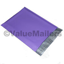 500 9x12 PURPLE Poly Mailers Shipping Envelopes Couture Boutique Quality Bags