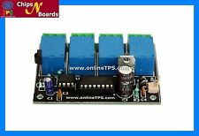 4 Channel IR Remote Control Board for DIY Projects,Home Automation,DIY Kits