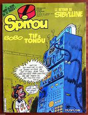 """a)SPIROU n°2257; sans le mini récit/ """"Des machines qui parlent"""""""