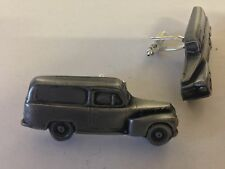Volvo 445 Duet Van  3D classic car Vehicle pewter effect cufflinks ref284