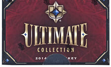 2014/15 Upper Deck Hockey Ultimate Collection Hobby Box NHL 1 Box 1 Pack 6 Cards