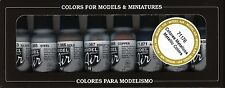 VAL71176   Model Air Set - Metallic Colors AIRBRUSH READY PAINTS