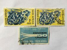 1960 South Africa Nice Stamps Set . SC 238-239, 249