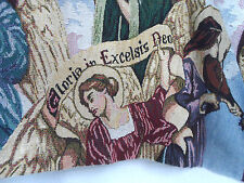 GOODWIN Weaver GLORIA In EXCELSIS Deo ANGELS High COTTON Throw BLANKET USA Made