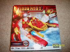 BRAND NEW! IRON MAN 2 JET-BOAT PURSUIT SET OF MEGA BLOKS!