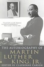 THE AUTOBIOGRAPHY OF MARTIN LUTHER KING JR Clayborne Carson NEW book history