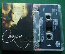 Carmel Set Me Free inc One Fine Day & I'm Over You + Cassette Tape - TESTED