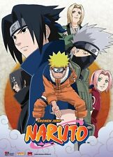 Naruto Leaf Village Group Wall Scroll 31 x 43 inch NEW