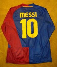 #10 Messi FC Barcelona Home Soccer Jersey Final Roma 2009  size XL