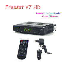 Freesat V7 HD DVB-S2 Mini Satellite TV Box Receiver 1080P For Youtube Youporn UK