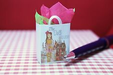 THE DOLL HOUSE  Miniature Size Shopping Bag with Tissue #SHB354