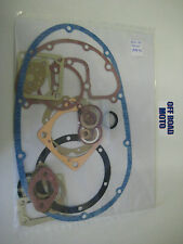BSA C15 PRE65 TRIALS AND ROAD FULL ENGINE GASKET KIT. 1959-1967. TOP QUALITY.
