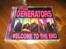 the Generators - Welcome to the End CD Punk Hard Rock - Doug Dagger