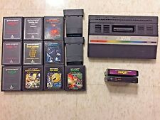 Atari 2600 jr console only with games+ 2 ti99/4a comp games