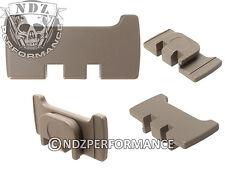 For Glock Gen 1-4 Model Rear Slide Racker Plate MOS Flat Dark Earth Plain FDE