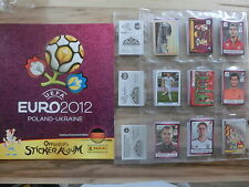 PANINI EURO 2012 EM 12 GERMAN VERSION *KOMPLETTSET COMPLETE SET*EMPTY ALBUM