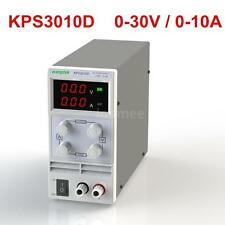 Switching Display 3 Digits LED 0-30V 10A Mini DC Power Supply KPS3010D new C7K2