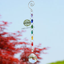 Window Rainbow Handmade Suncatcher Crystal Prisms Ball Pendulum Wedding Xmas Dec