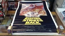 Star Wars Empire Strikes Back Summer 1981 rerelease One Sheet Poster
